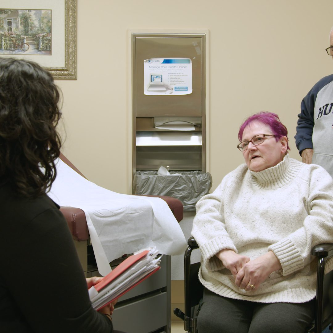 PP - Kizzy Speaking to patient