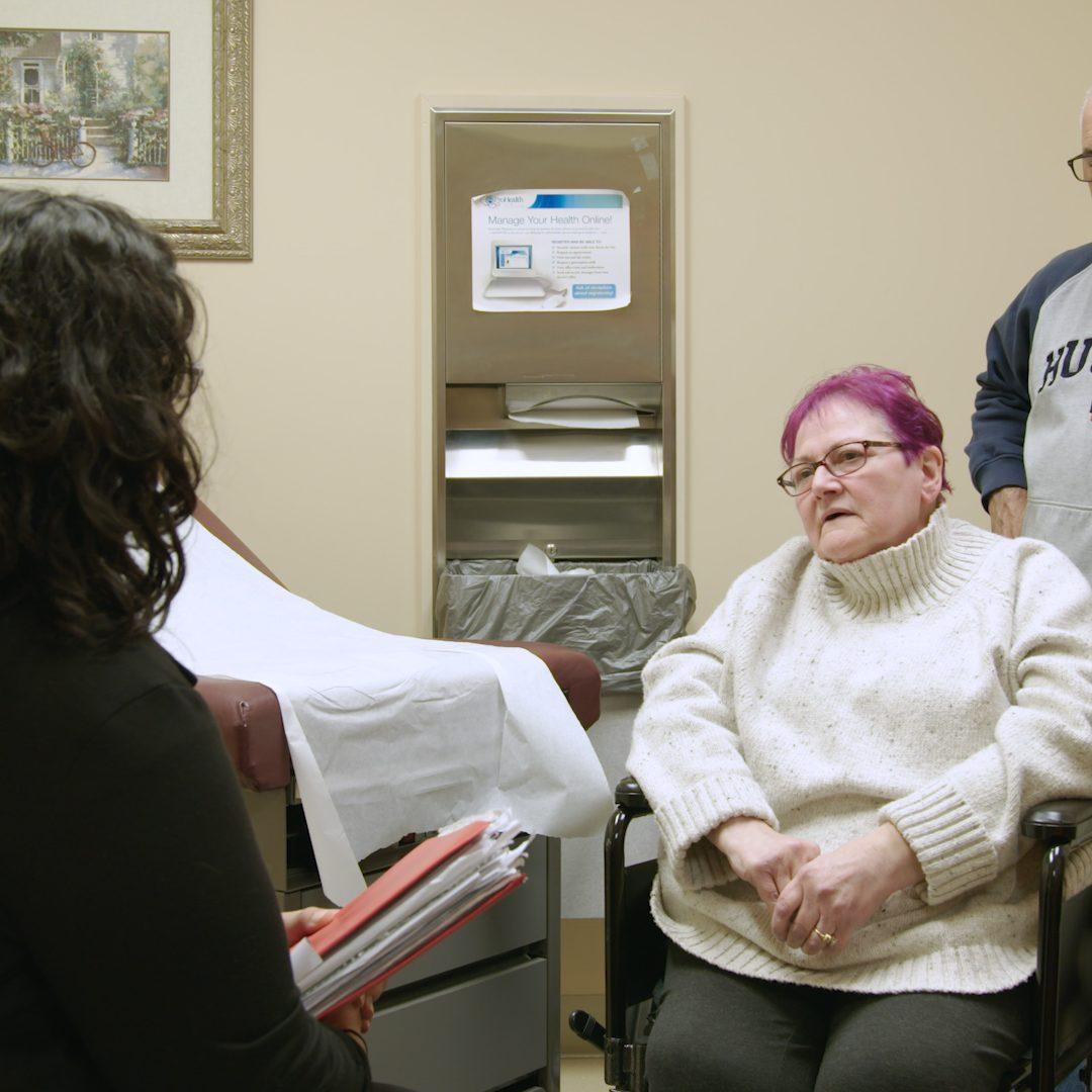 PP - Kizzy Speaking to patient