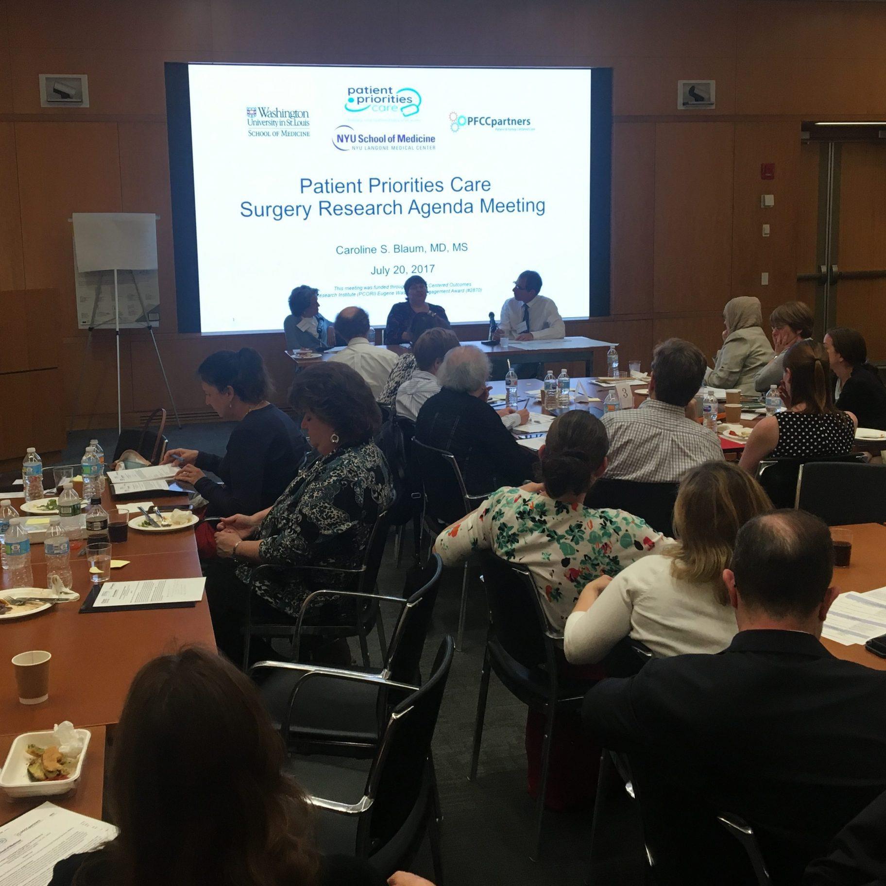 PCORI research agenda 2